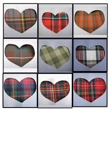 tartan-hearts