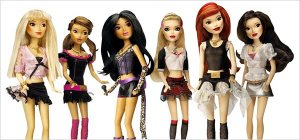 Hasbro Pussycat Dolls--their reply to the Bratz