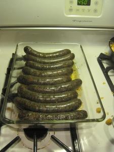 El Sachichero handmade Nettle sausage